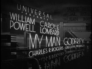 My man Godfrey movie title