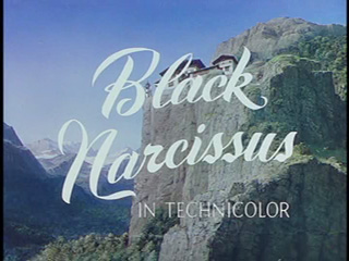Black narcissus trailer title