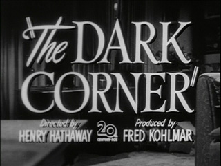 The dark corner trailer title