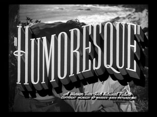 Humoresque trailer title