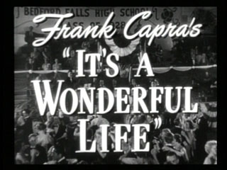 It's a wonderful life trailer title