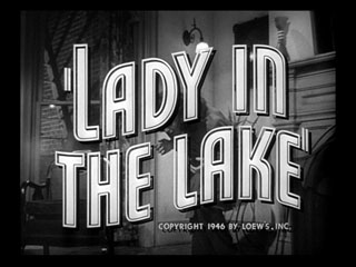 Lady in the lake trailer title
