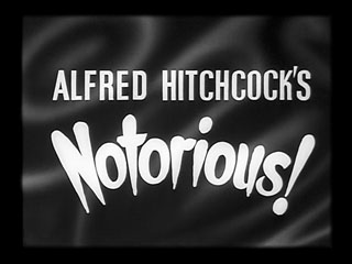 Notorious trailer title