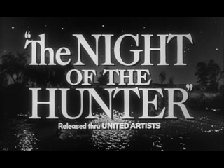 The night of the hunter trailer title