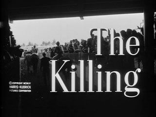 The killing (1956) movie title