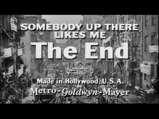 Somebody up there likes me movie title