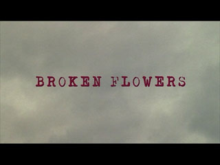 Broken flowers (2005) title sequence